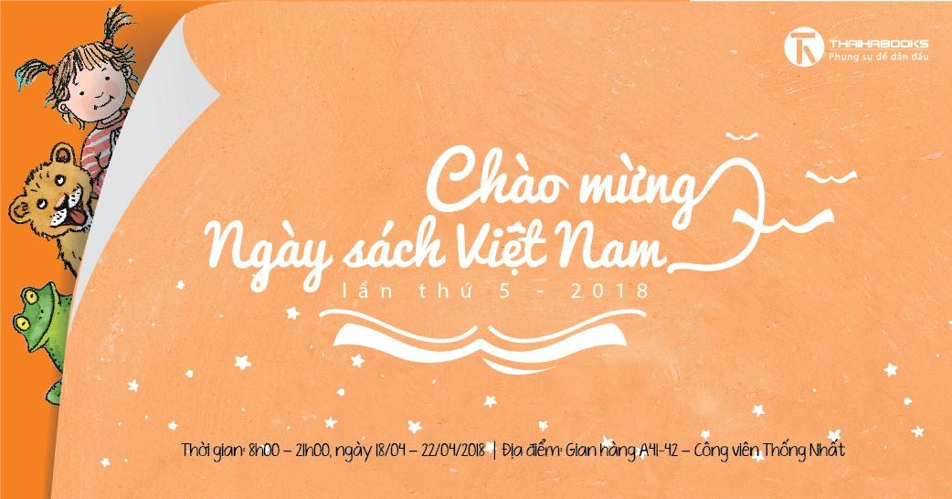 ThaiHaBooks tham gia Hội sách chào mừng Ngày sách Việt Nam 2018 từ ngày 18/4 – 22/4