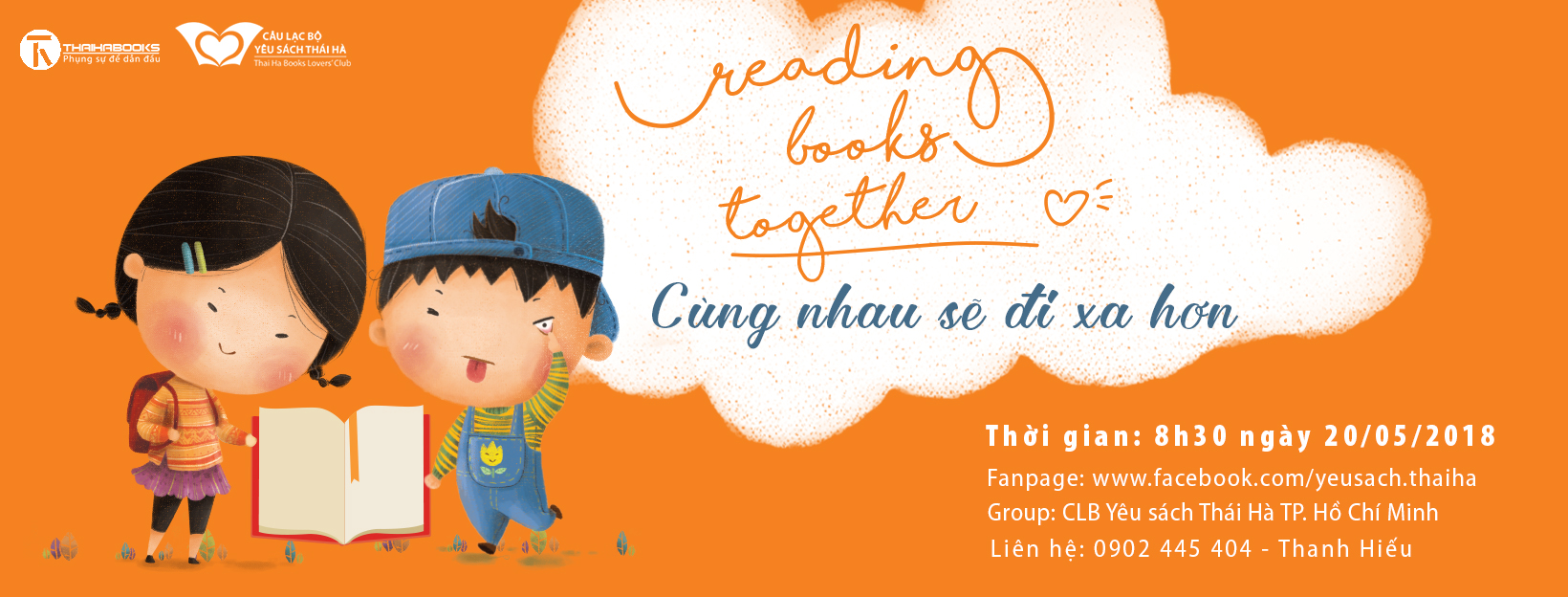 Reading Books Together 8 – Cùng nhau sẽ đi xa hơn