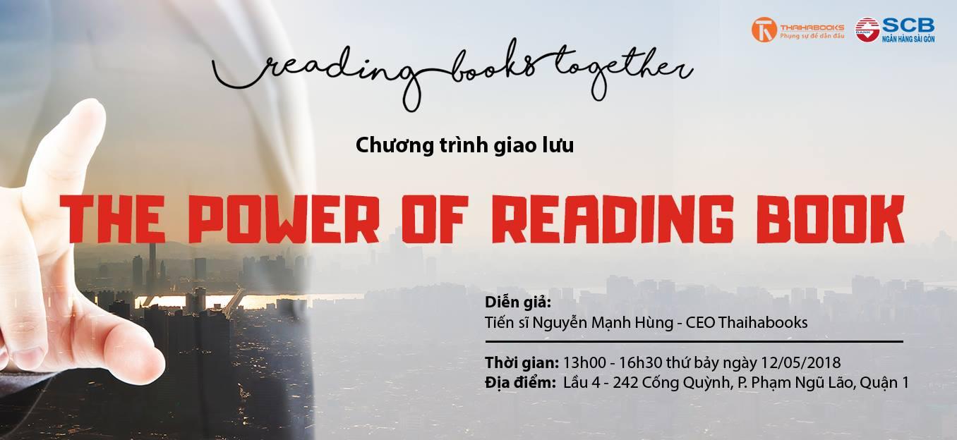 "Reading Books Together số 10: ""THE POWER OF READING BOOK"" – Ngân hàng Sài Gòn SCB"