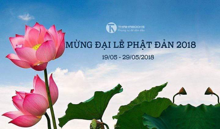 Mừng Đại lễ Phật Đản 2018: Thái Hà Books tri ân bạn đọc