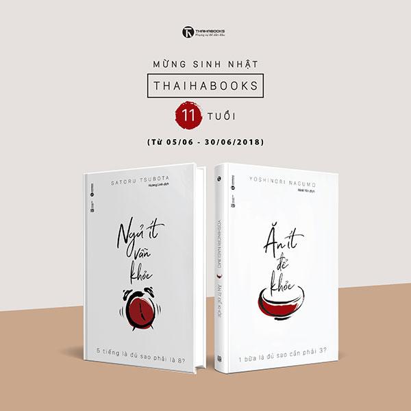 [ThaiHaBooks] – Món quà sức khỏe – Bộ sách sinh nhật lần thứ 11