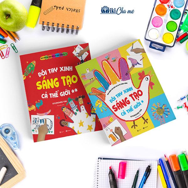 """[ThaiHaBooks] Nuôi dưỡng sự sáng tạo của trẻ cùng ehon """"Đôi bàn tay xinh sáng tạo cả thế giới""""."""