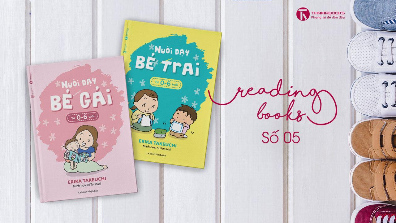 [Reading Books số 5] Bộ sách Nuôi dạy bé trai và bé gái từ 0 đến 6 tuổi