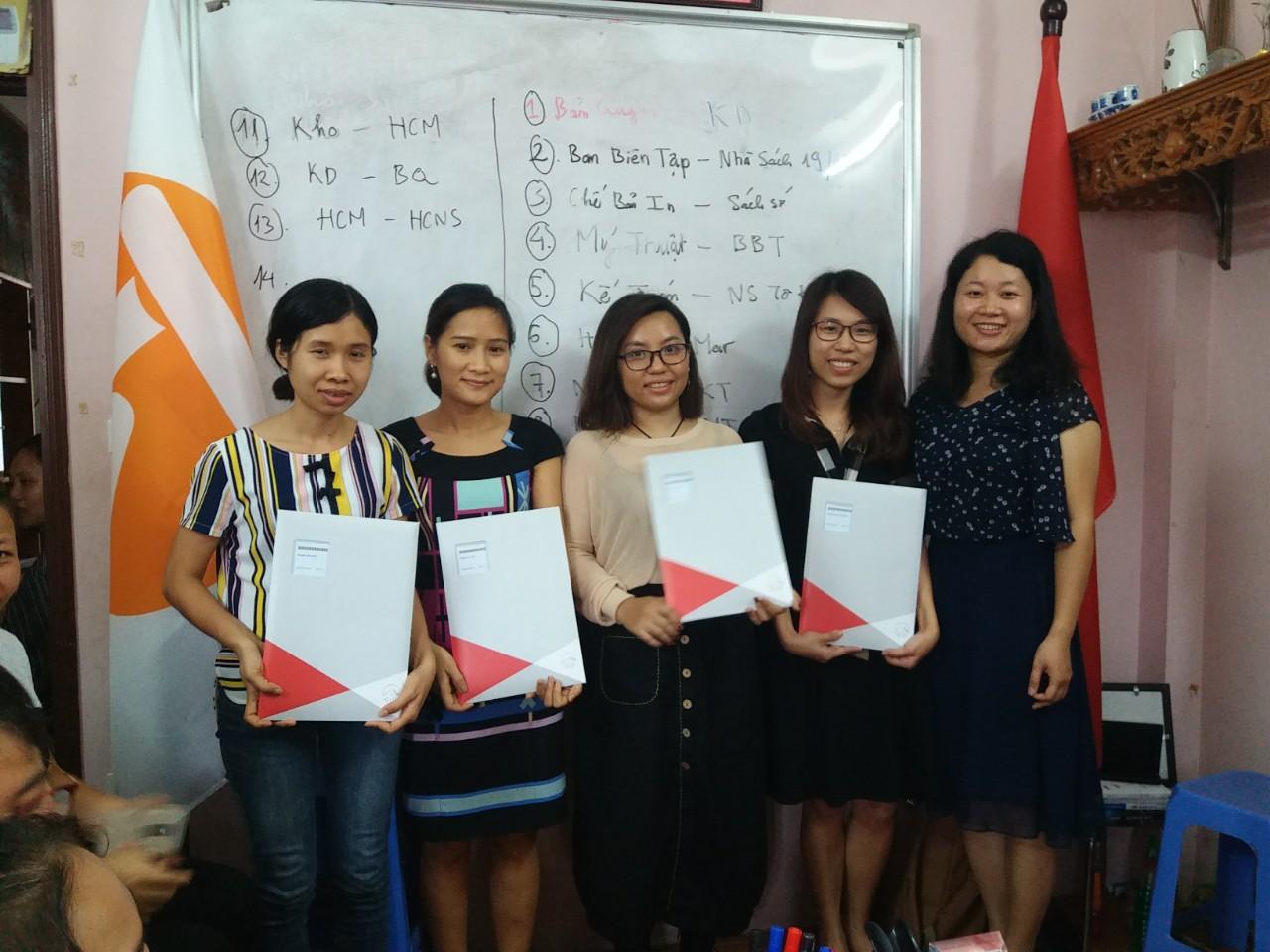 ThaiHaBooks –  Giải cống hiến – Tri ân cán bộ nhân viên năm 2018