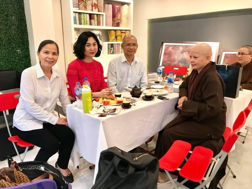 Chuyện xuất gia của nữ doanh nhân Đoàn Thị Hữu Nghị – phó chủ tịch Hiệp hội nữ doanh nhân Hà Nội