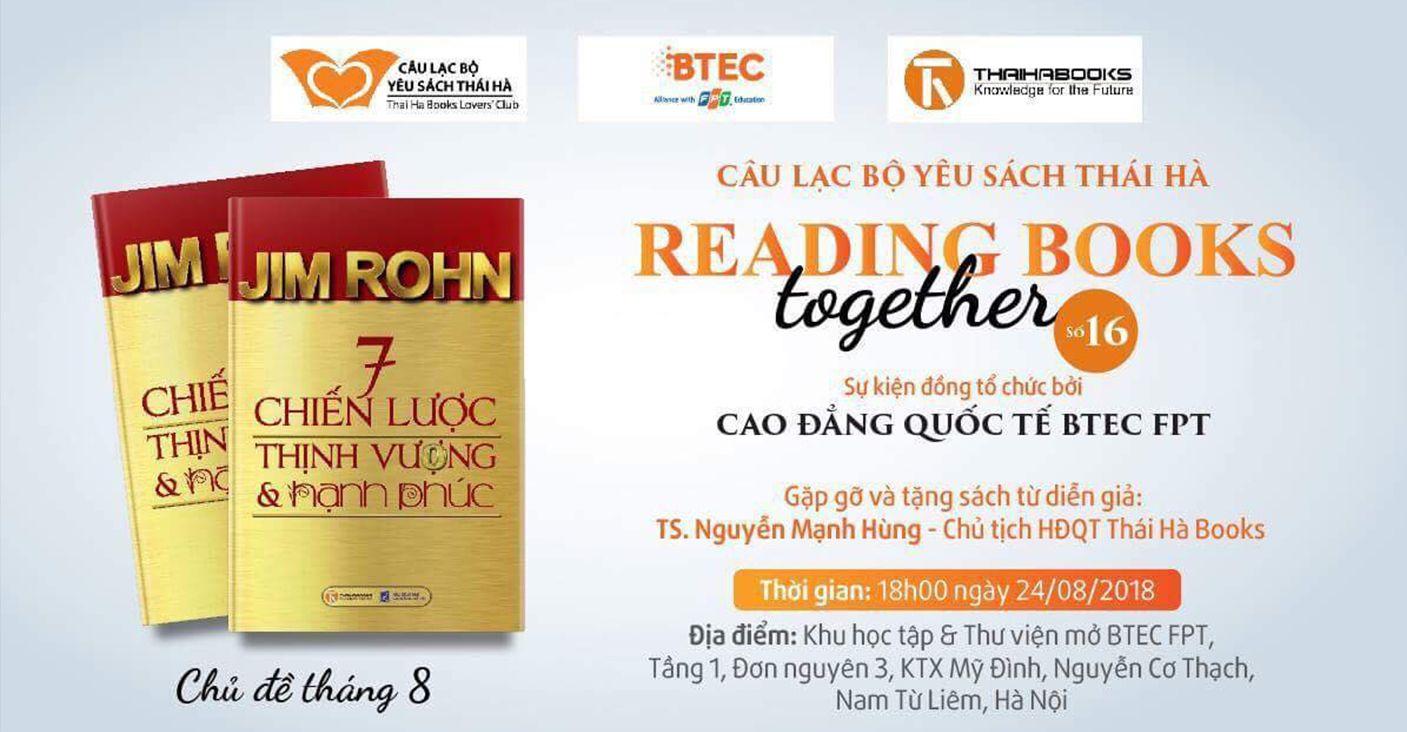 Reading Books Together số 16: 7 CHIẾN LƯỢC THỊNH VƯỢNG VÀ HẠNH PHÚC