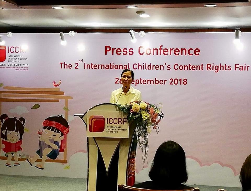 Băng Cốc dốc sức cho hội sách thiếu nhi quốc tế Chiang Mai ICCRF International Children's Content Right Fair 2018 – bài 7