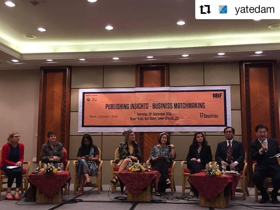 Hội sách Quốc tế Indonesia 2018 thành công tốt đẹp