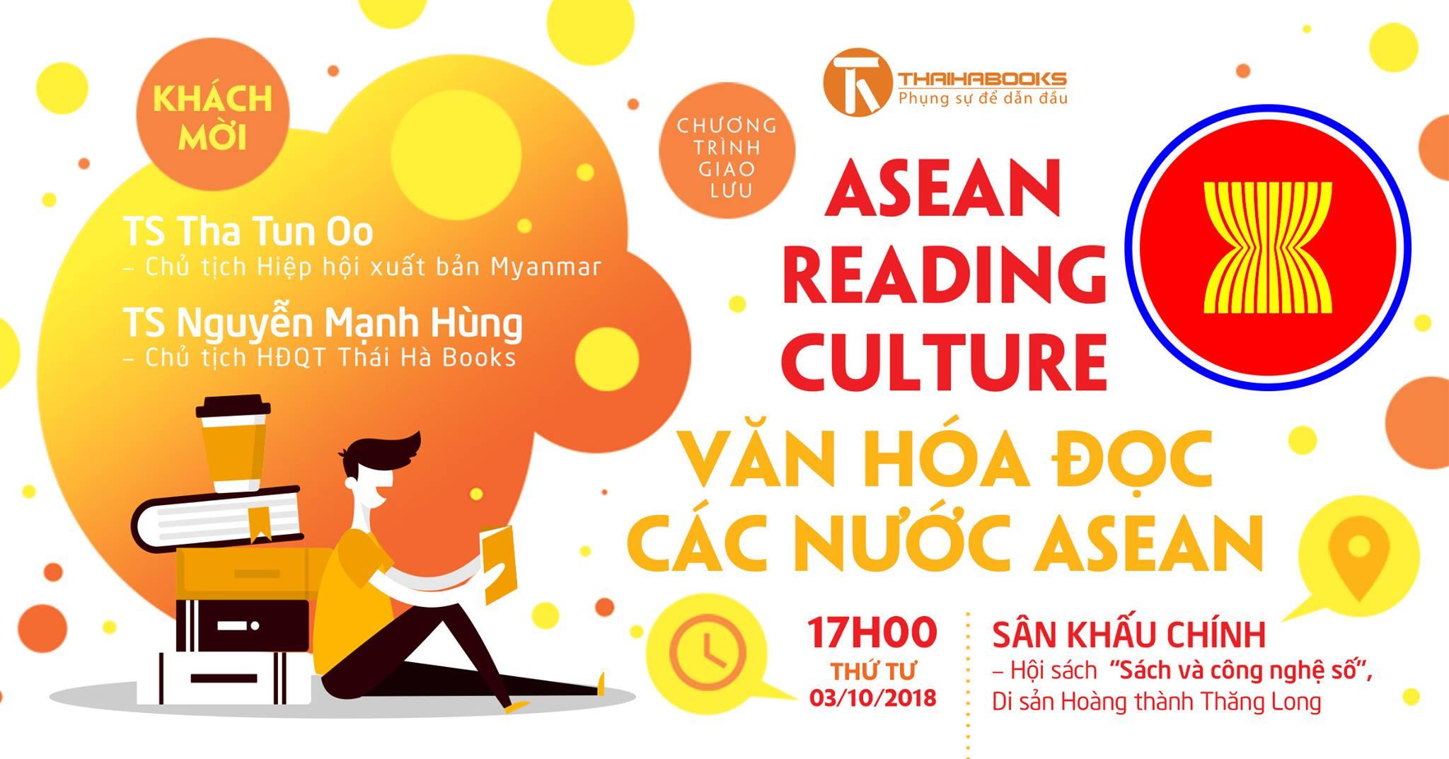 Reading Books Together số 25: Giao lưu về chủ đề Văn hóa đọc ASEAN với Chủ tịch Hội xuất bản Myanmar Tha Tun Oo