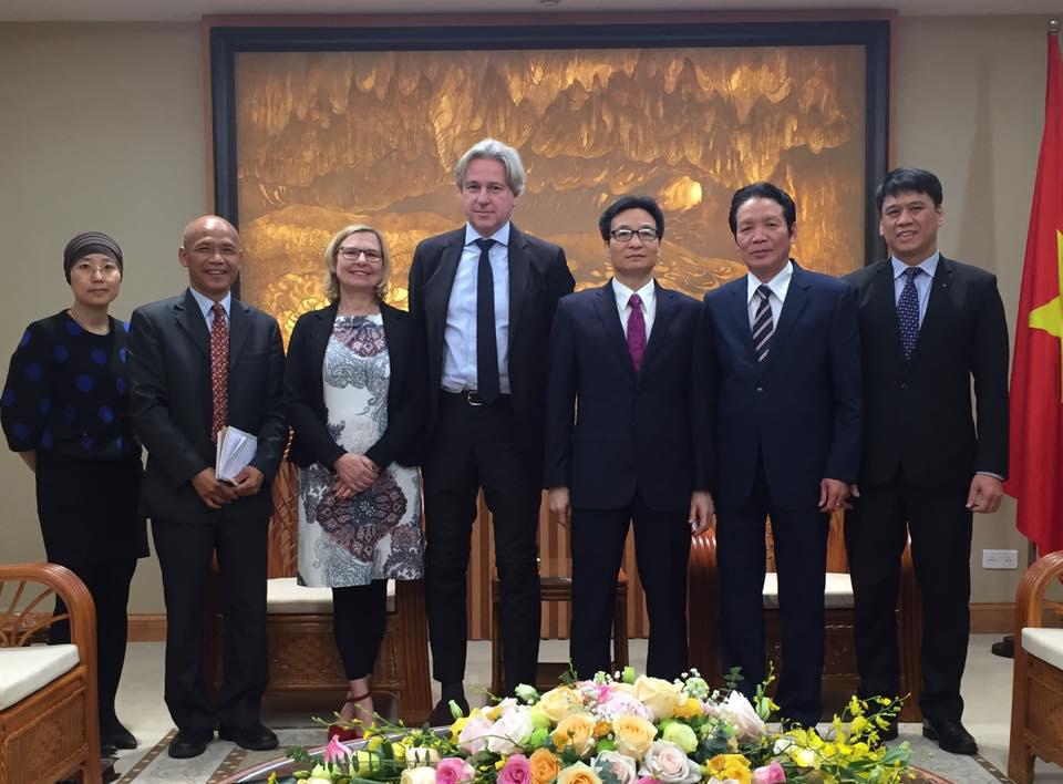 Chuyến thăm và làm việc của Chủ tịch Frankfurt Book Fair tại Việt Nam năm 2018