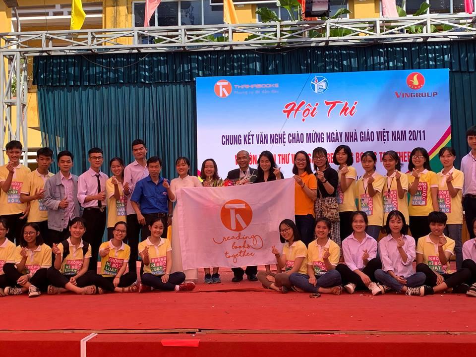 Giao lưu và trao tặng tủ sách Reading Books Together tại Bắc Giang
