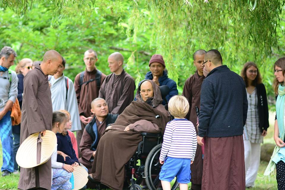 13 năm tu học hành thiền theo Thiền sư Thích Nhất Hạnh