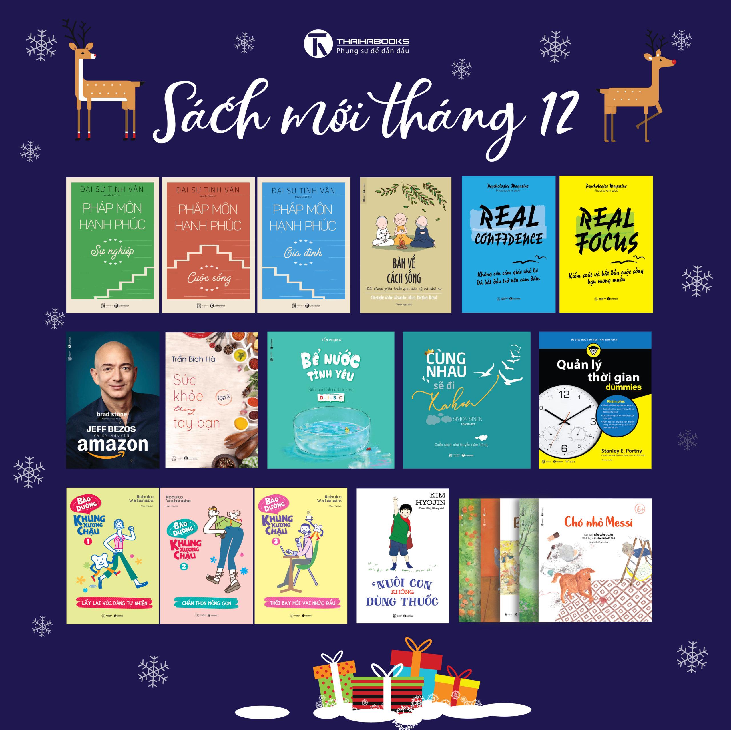 [Thái Hà Books] Sách mới tháng 12/2018
