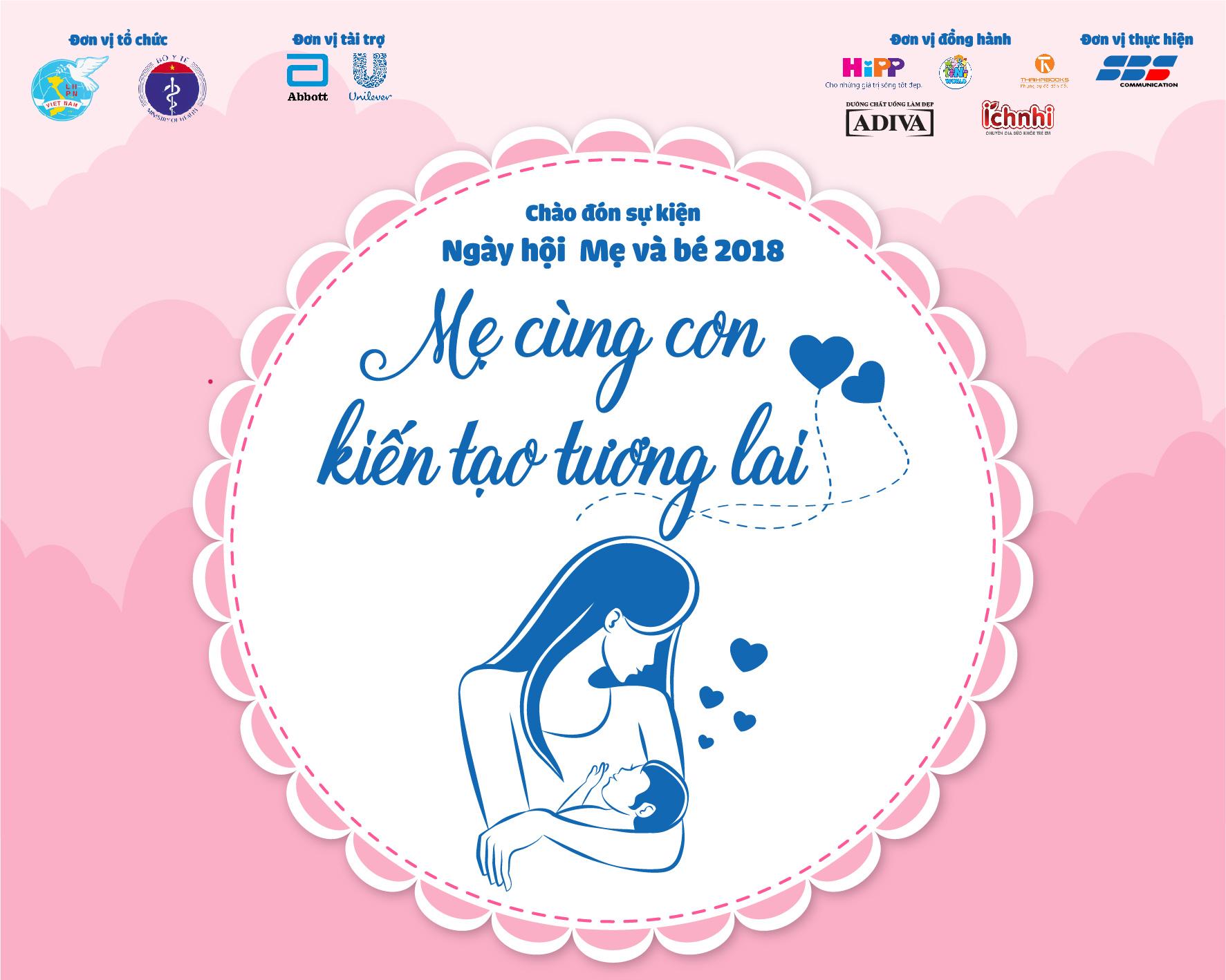 Thái Hà Books đồng hành cùng Ngày hội Mẹ và Bé 2018