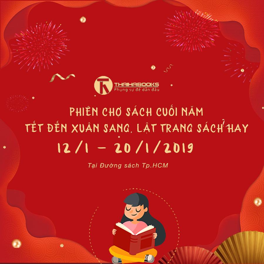 ThaiHaBooks tham gia Phiên chợ sách cuối năm tại Đường sách Tp.HCM