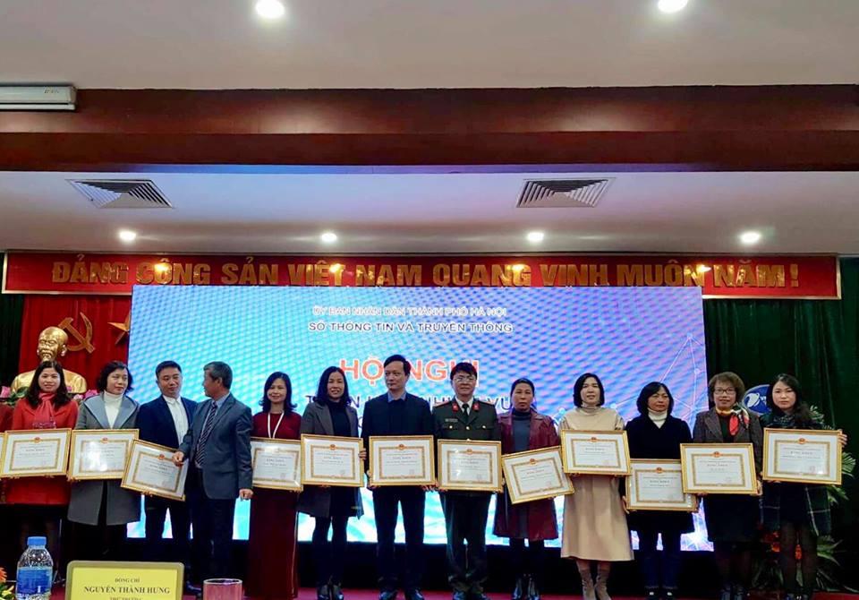 Thái Hà Books vinh dự nhận bằng khen từ Chủ tịch UBND TP. Hà Nội