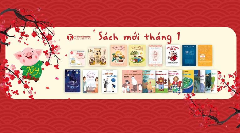 [Thái Hà Books] Sách mới tháng 1/2019