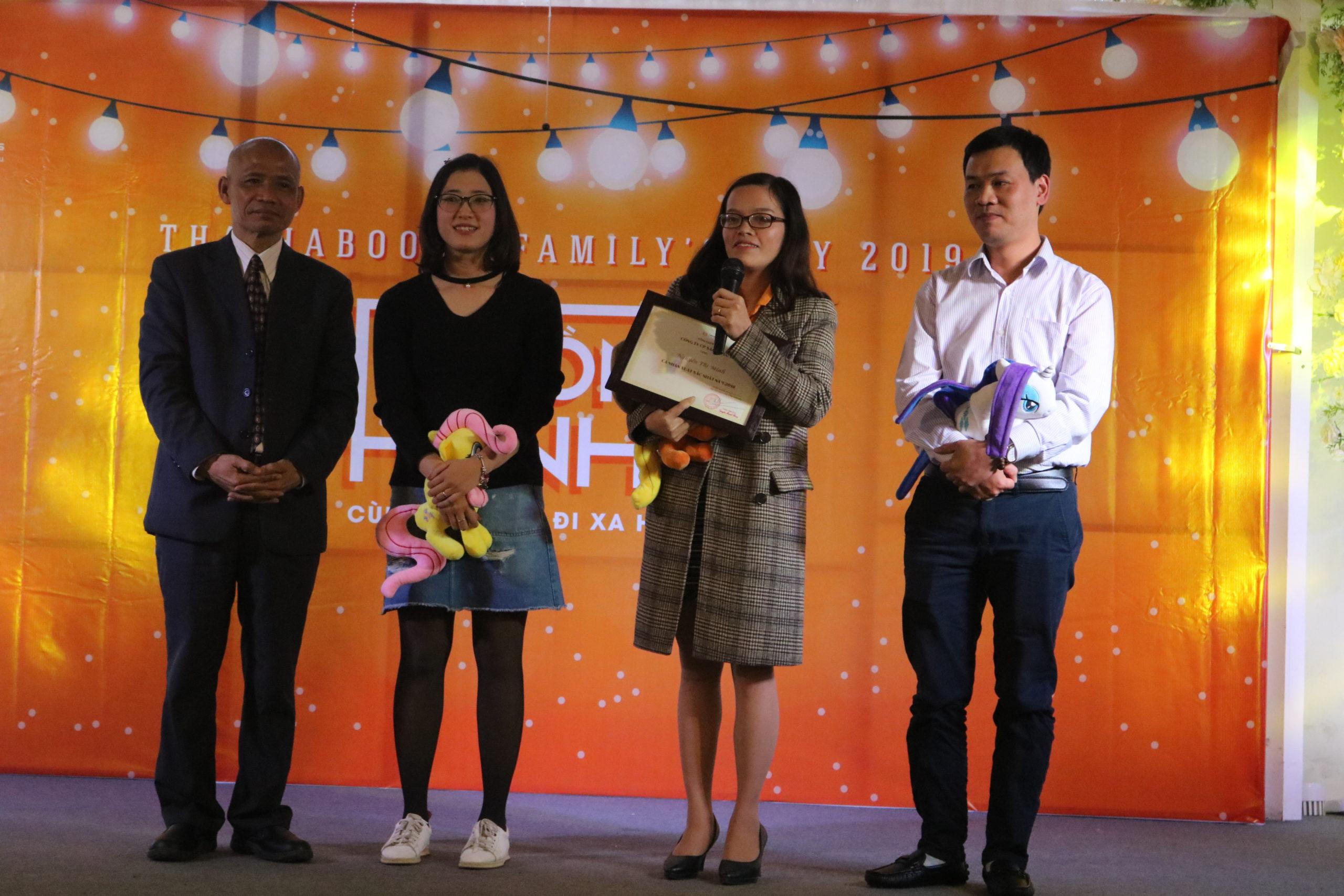Nguyễn Thị Minh – Cá nhân xuất sắc nhất năm 2018