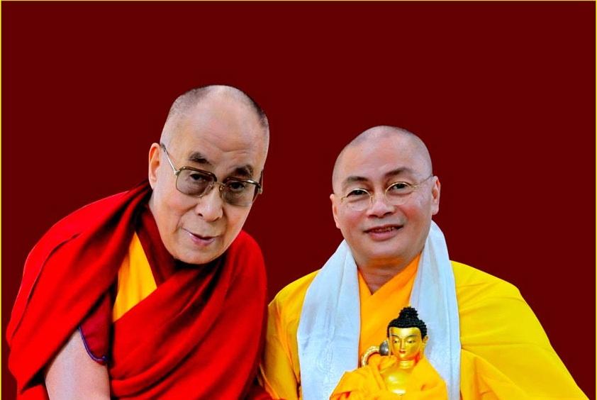 SỰ KIỆN HY HỮU-PHO TƯỢNG ĐẶC BIỆT: Chuyện Thượng tọa Thích Minh Hiền gặp Ngài Dalai Lama và được tặng bức tượng Phật ý nghĩa