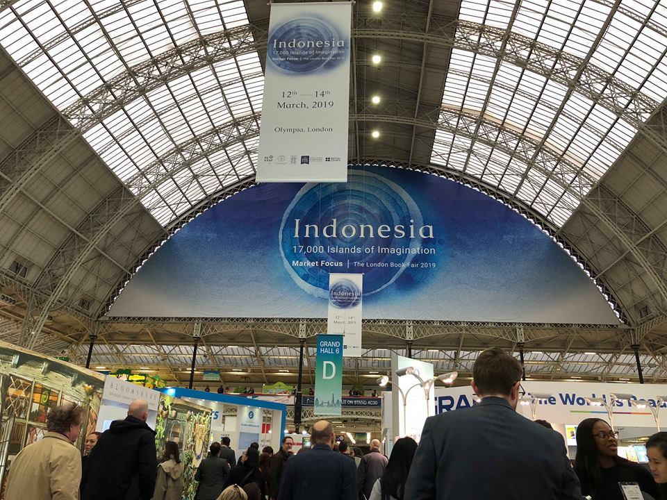 Indonesia là Quốc gia trọng tâm của hội sách Luân Đôn 2019
