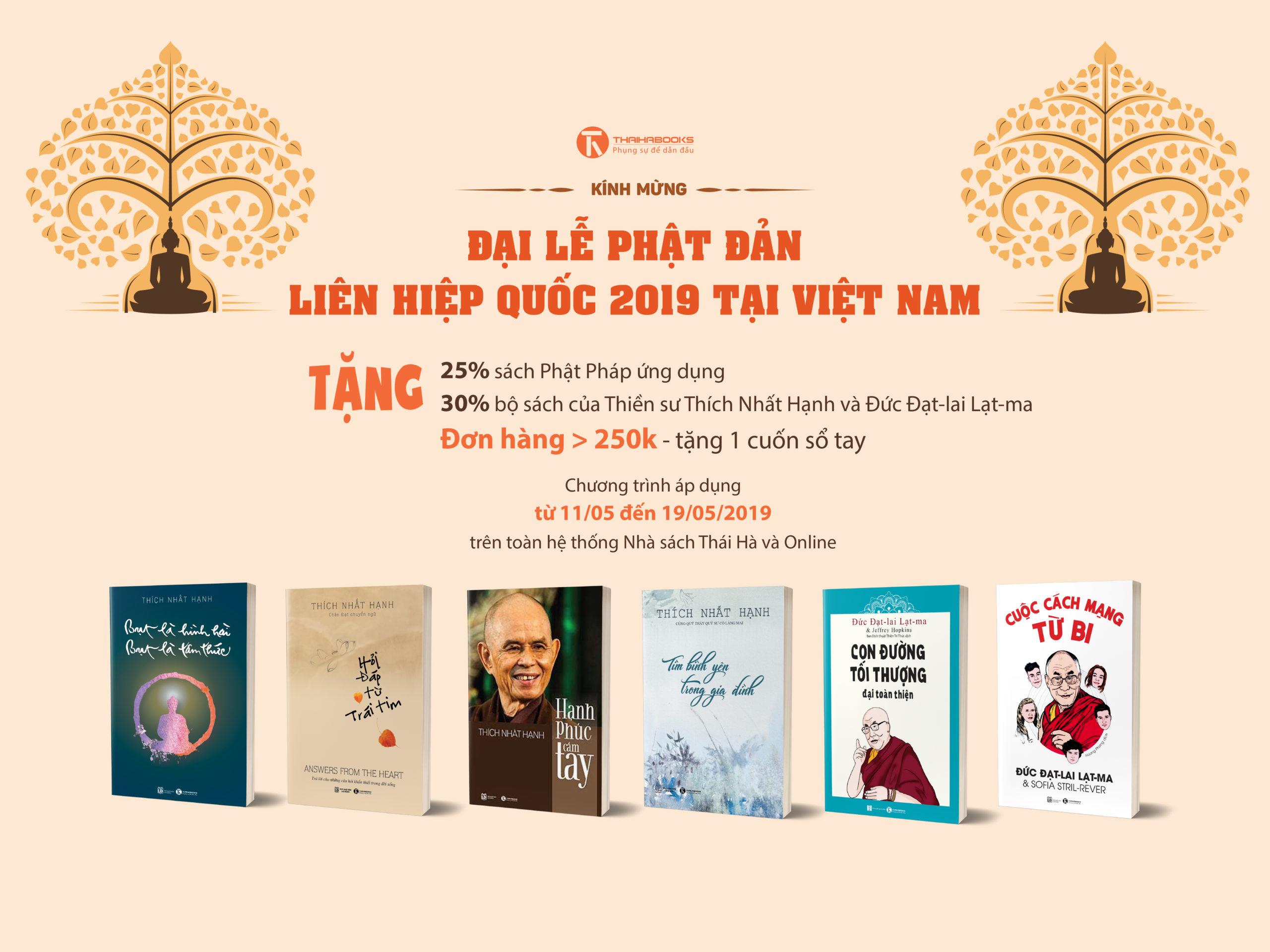 Kính mừng Đại lễ Phật Đản 2019