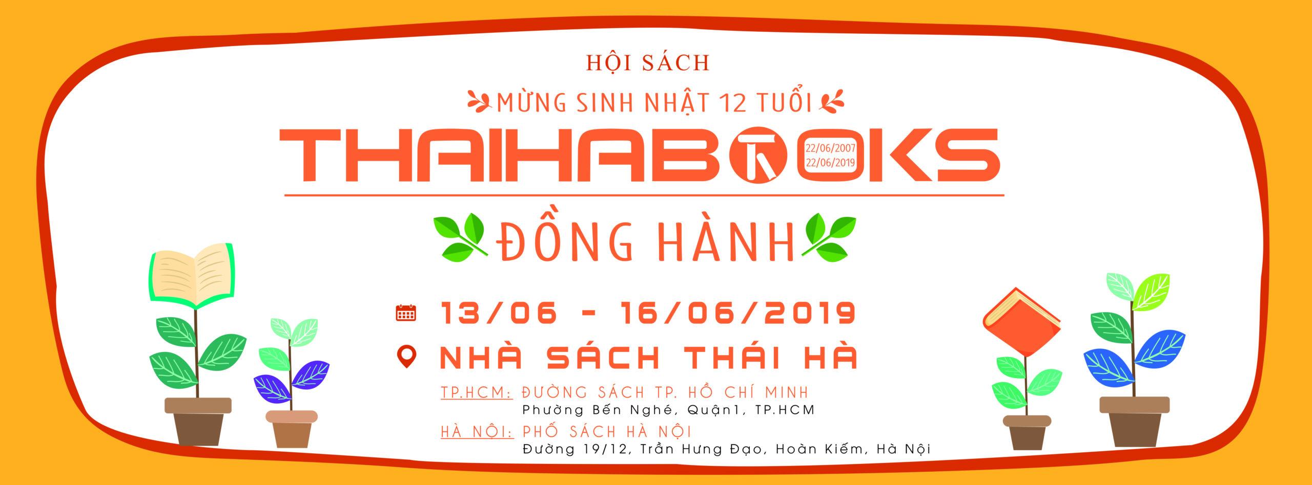 Thái Hà Books – chuỗi sự kiện mừng sinh nhật 12 tuổi