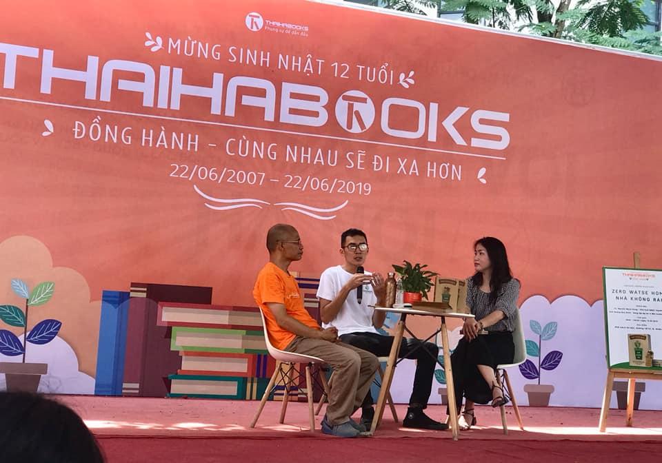[HN] Có điều gì thú vị trong Hội sách Thái Hà Books tại Phố sách Hà Nội?