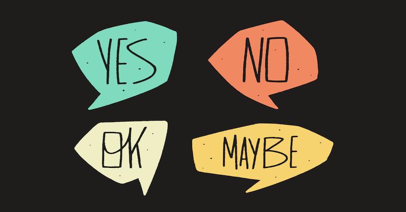 Làm thế nào để ngừng nói CÓ khi bạn muốn nói KHÔNG