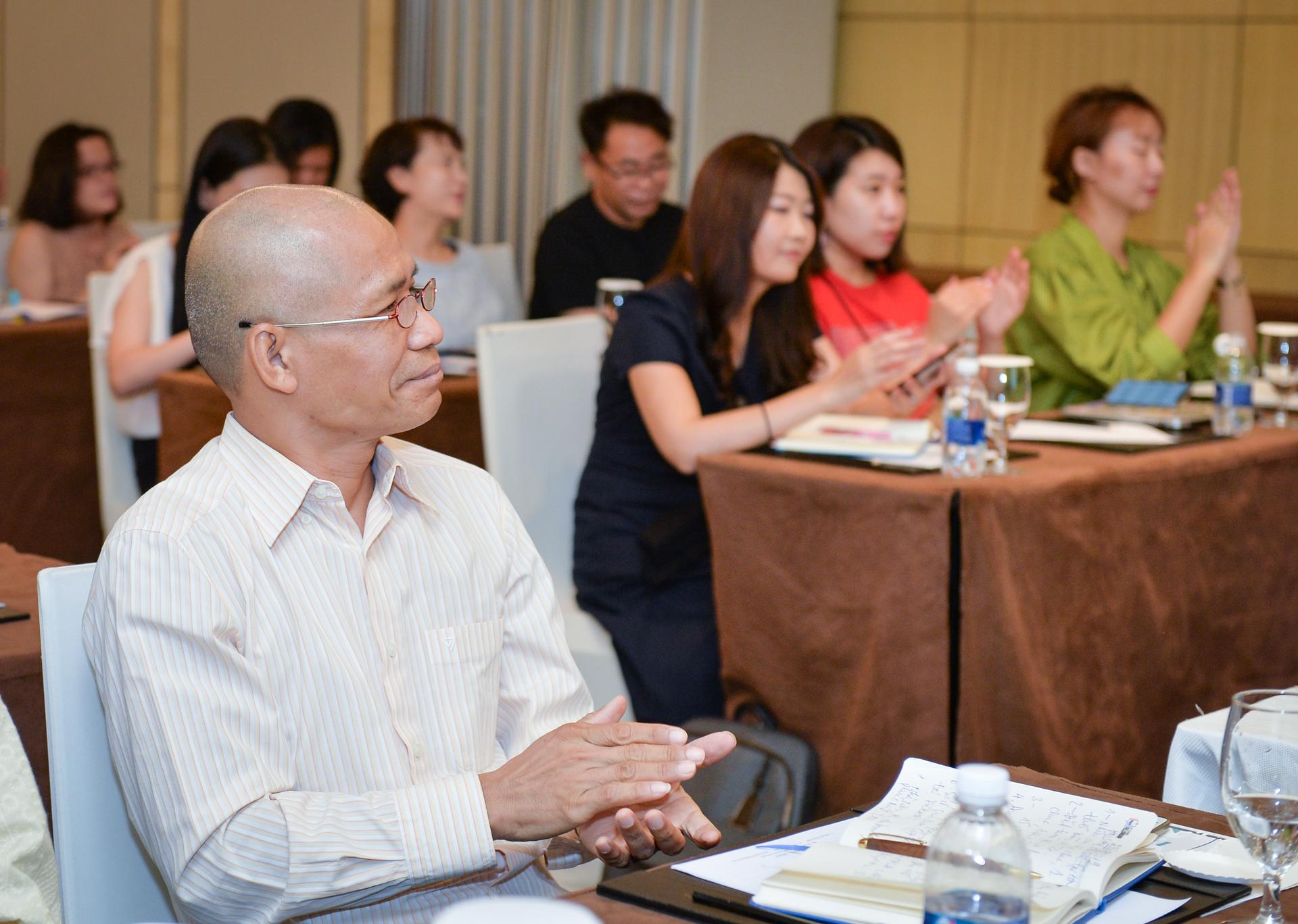 Thái Hà tham dự hội sách bản quyền Hàn Quốc tại Hà Nội