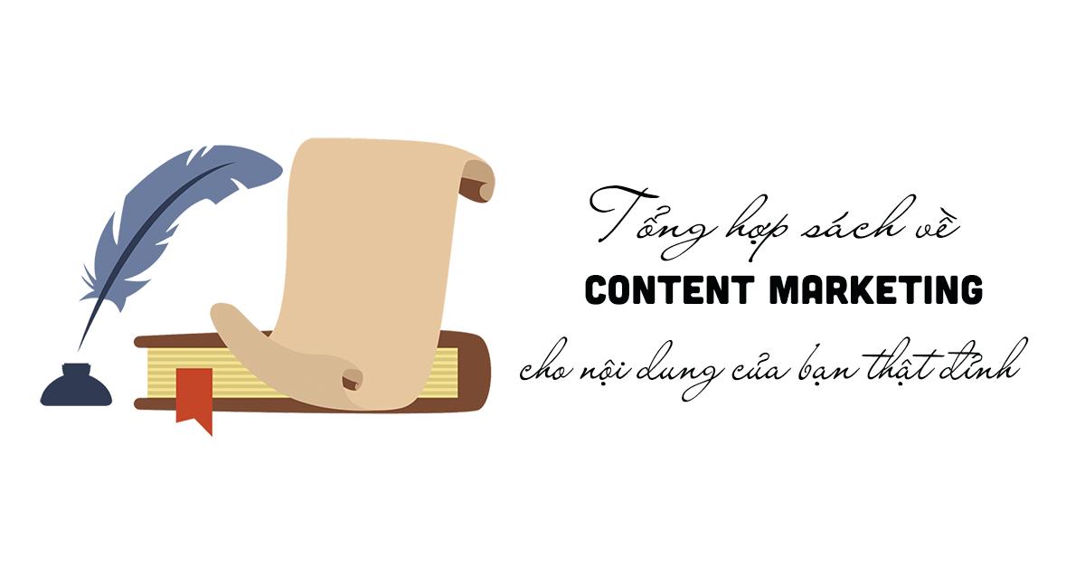 Tổng hợp sách về content marketing – cho nội dung của bạn thật đỉnh