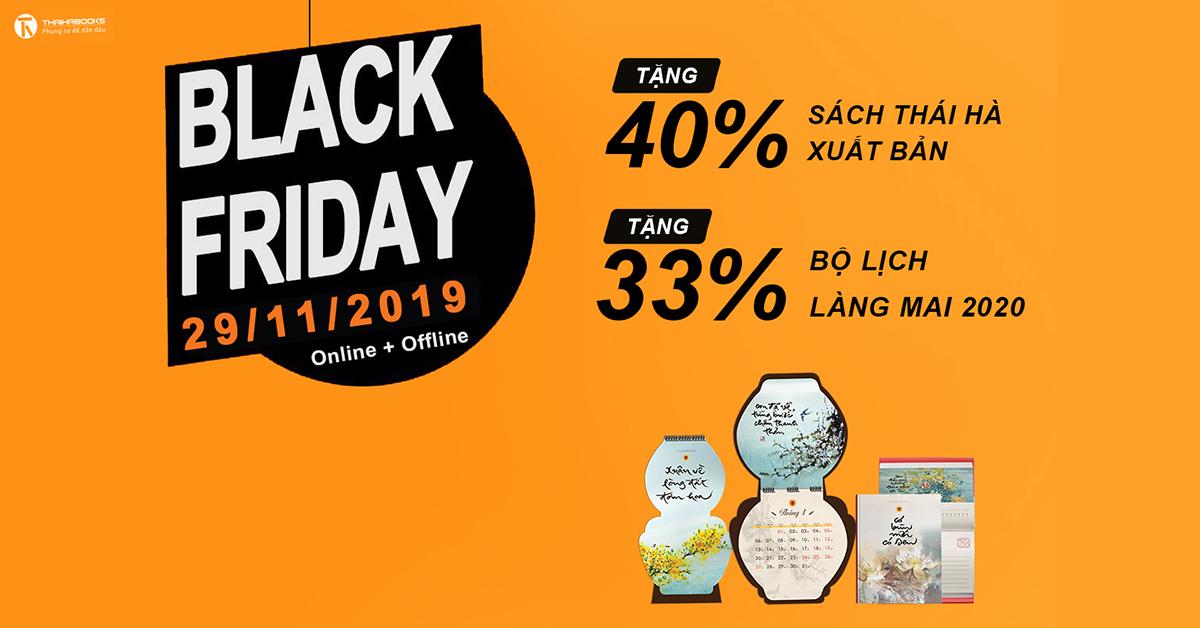 BLACK FRIDAY | ƯU ĐÃI 40% NGÀY 29/11/2019