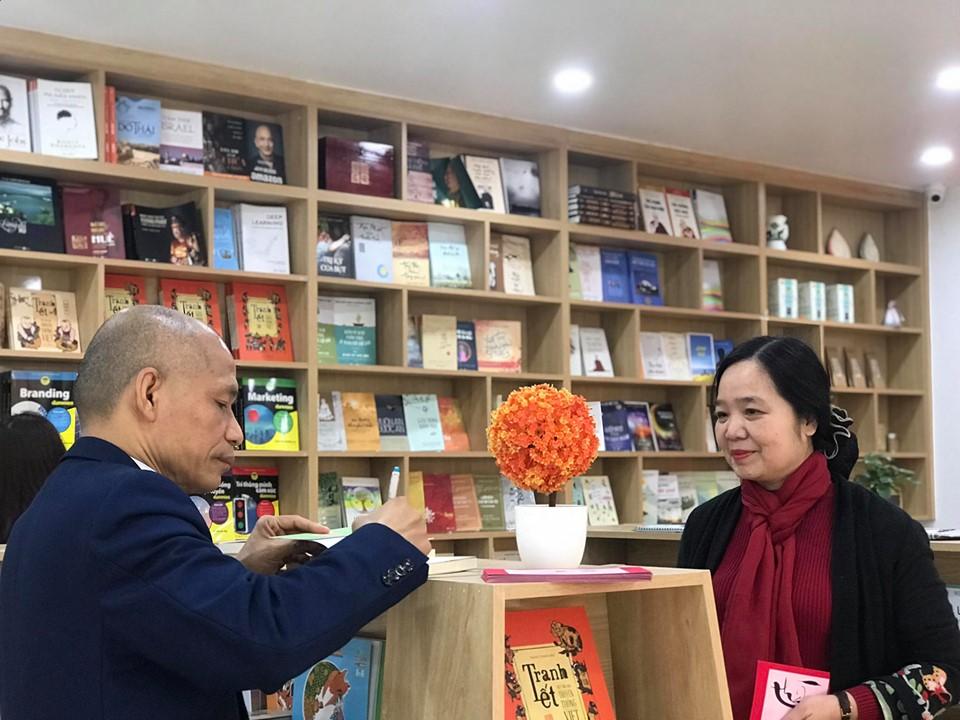 Những vị khách quý đã đến thăm Thái Hà Books nhân dịp đầu xuân Canh Tý 2020