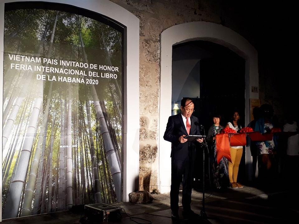 Các sự kiện của Việt Nam – Quốc gia Khách mời Danh dự tại Hội sách Quốc tế La Habana lần thứ 29