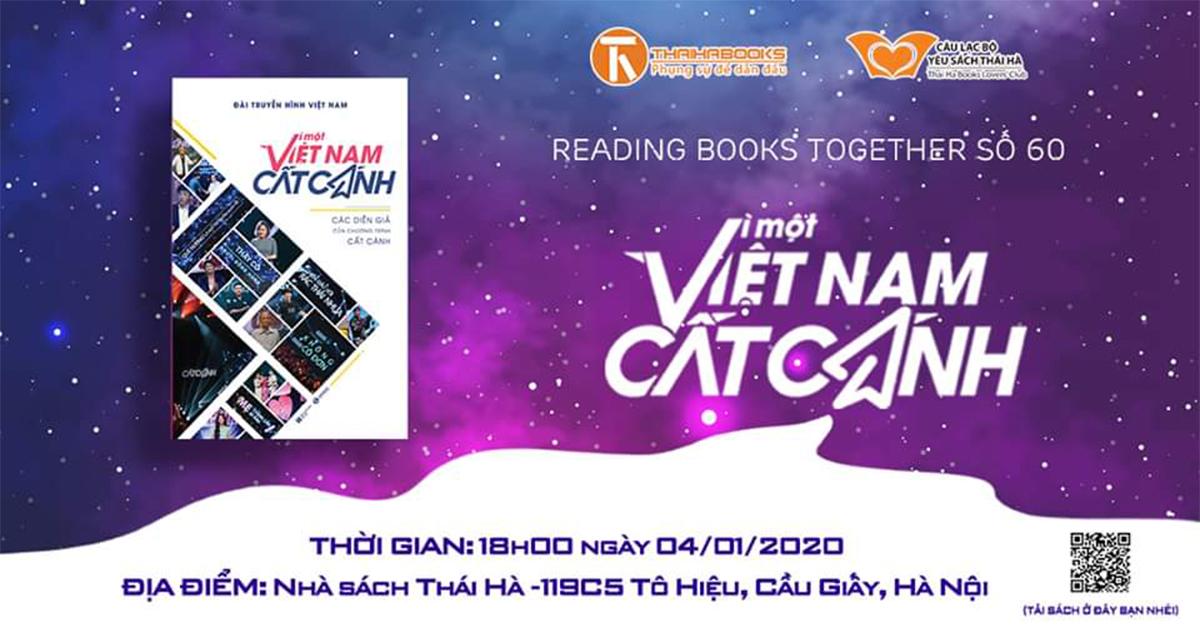 Reading Books Together số 60 – Vì một Việt Nam cất cánh