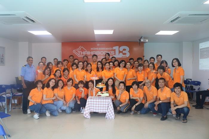 Chương trình mừng sinh nhật Thái Hà Books 13 tuổi