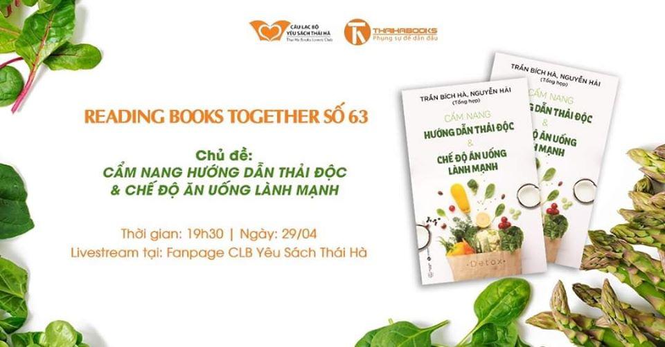 Reading Books Together số 63: Cẩm nang hướng dẫn thải độc