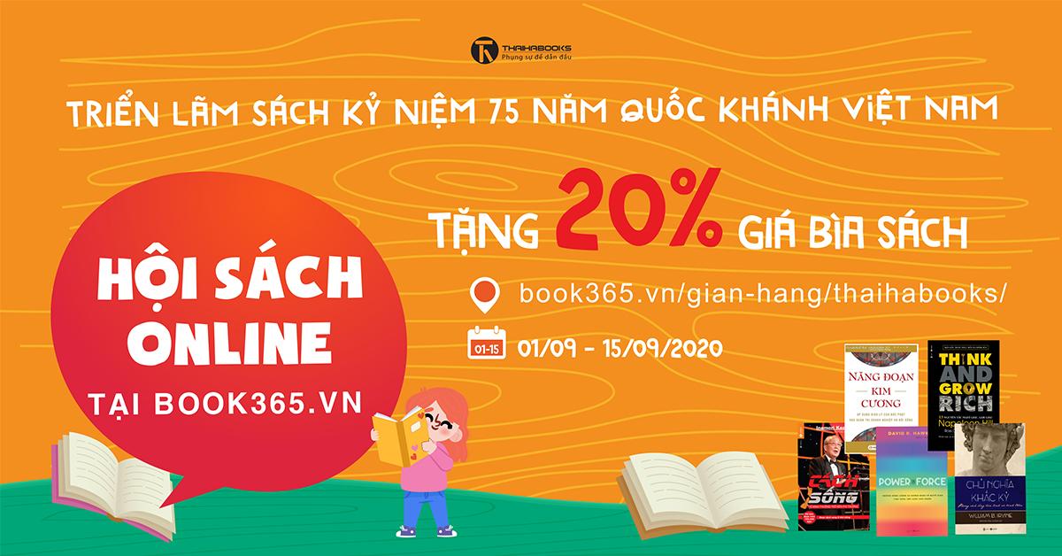 Thái Hà Books tham dự Triển lãm Sách kỷ niệm 75 năm Quốc Khánh Việt Nam