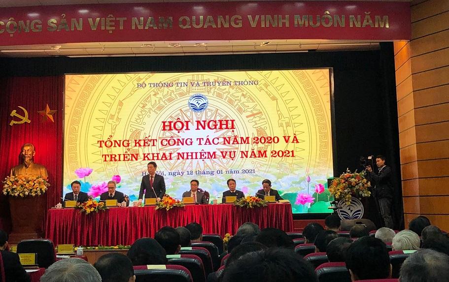 Thái Hà Books tham dự Hội nghị Tổng kết công tác năm 2020 và triển khai nhiệm vụ năm 2021 của Bộ Thông tin và Truyền thông