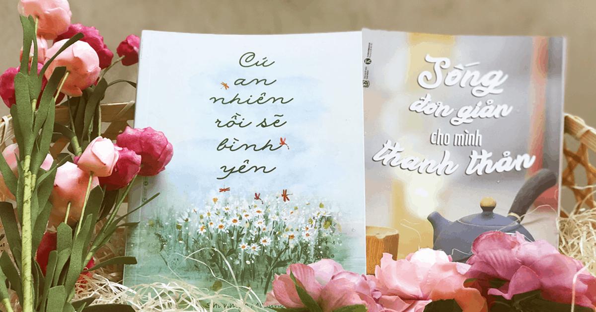 """Bộ sách """"Sống đơn giản đời bình yên"""" – Hạnh phúc là biết đủ"""