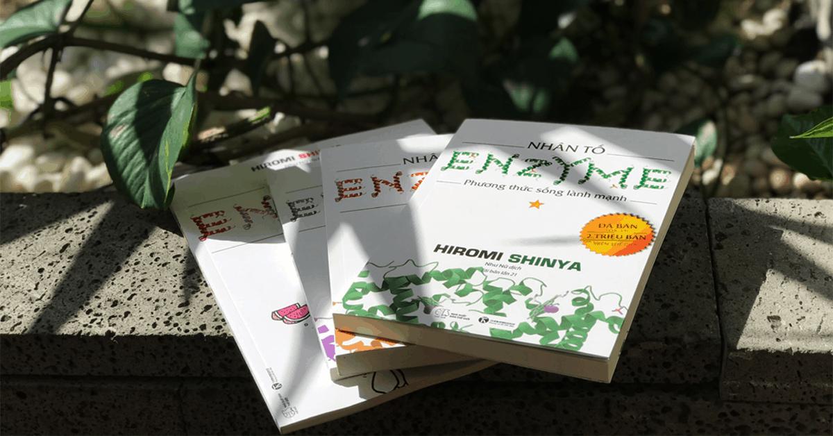 """Bộ sách """"Nhân tố Enzyme"""" – Cơ thể con người có thể sống mà không mắc bệnh"""