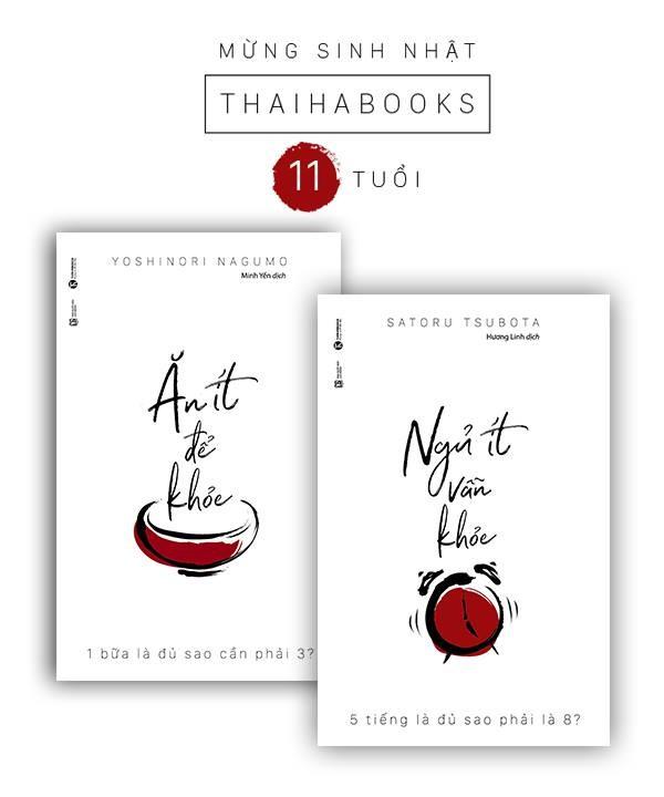Món quà cho sức khỏe – Bộ sách Mừng sinh nhật Thái Hà Books 11  tuổi