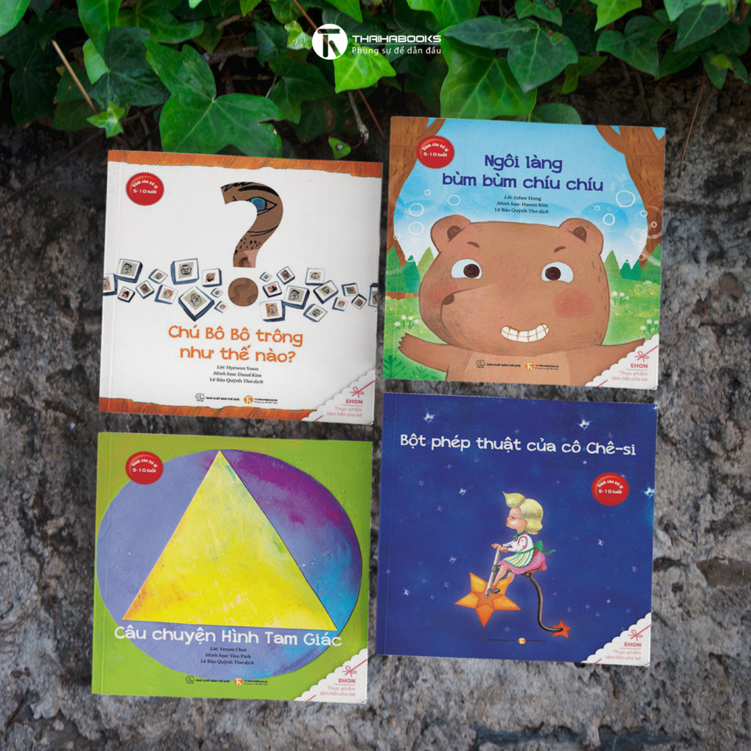 Ehon – Bộ sách Nuôi dưỡng ước mơ và tình yêu thương cho bé