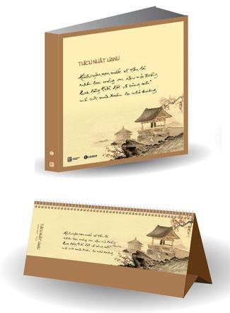 Bộ Lịch bàn và Sổ tay theo phong cách Thiền
