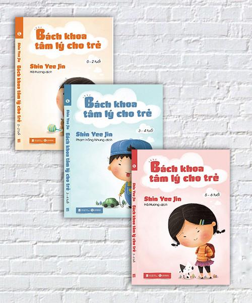 Bộ sách Bách khoa tâm lý cho trẻ từ 0 – 6 tuổi