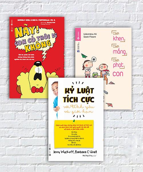 Bộ sách Các phương pháp kỷ luật tích cực với trẻ