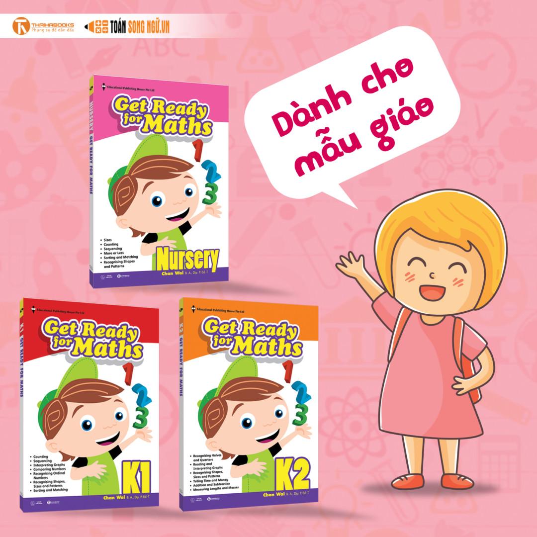 Bộ sách giáo khoa toán Singapore dành cho mẫu giáo – Get Ready for Maths & Nursery Get Ready for Maths