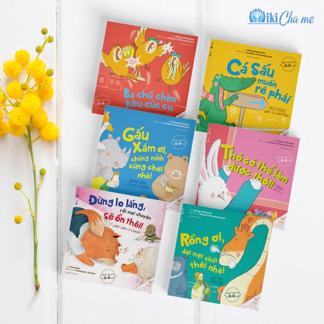 Ehon song ngữ – Bộ sách trau dồi kỹ năng sống và tư duy tích cực cho bé