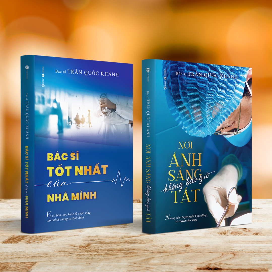Bộ sách NƠI ÁNH SÁNG KHÔNG BAO GIỜ TẮT – bìa mềm