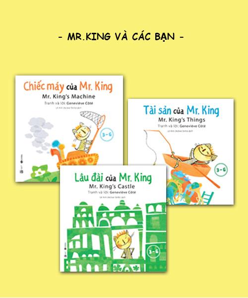 Bộ sách Mr.King và các bạn