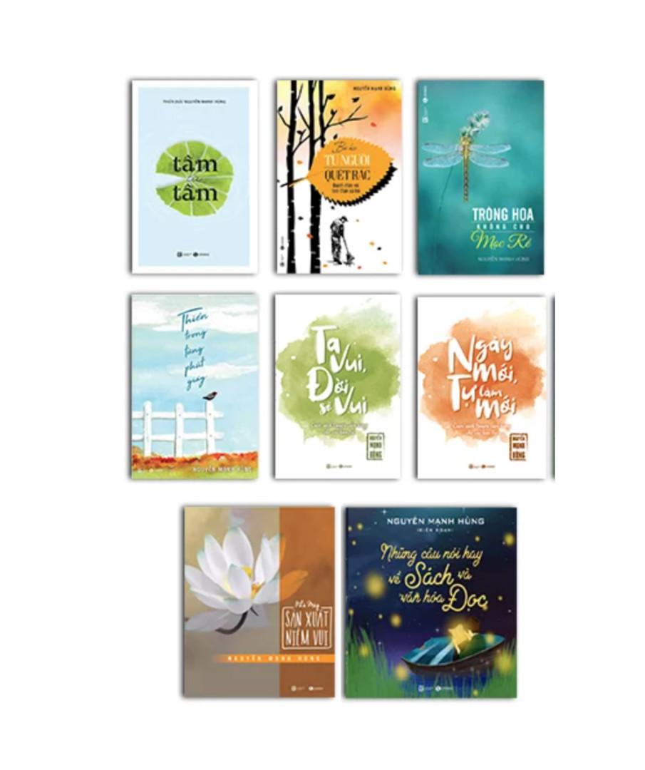 Trọn bộ sách của Ts. Nguyễn Mạnh Hùng